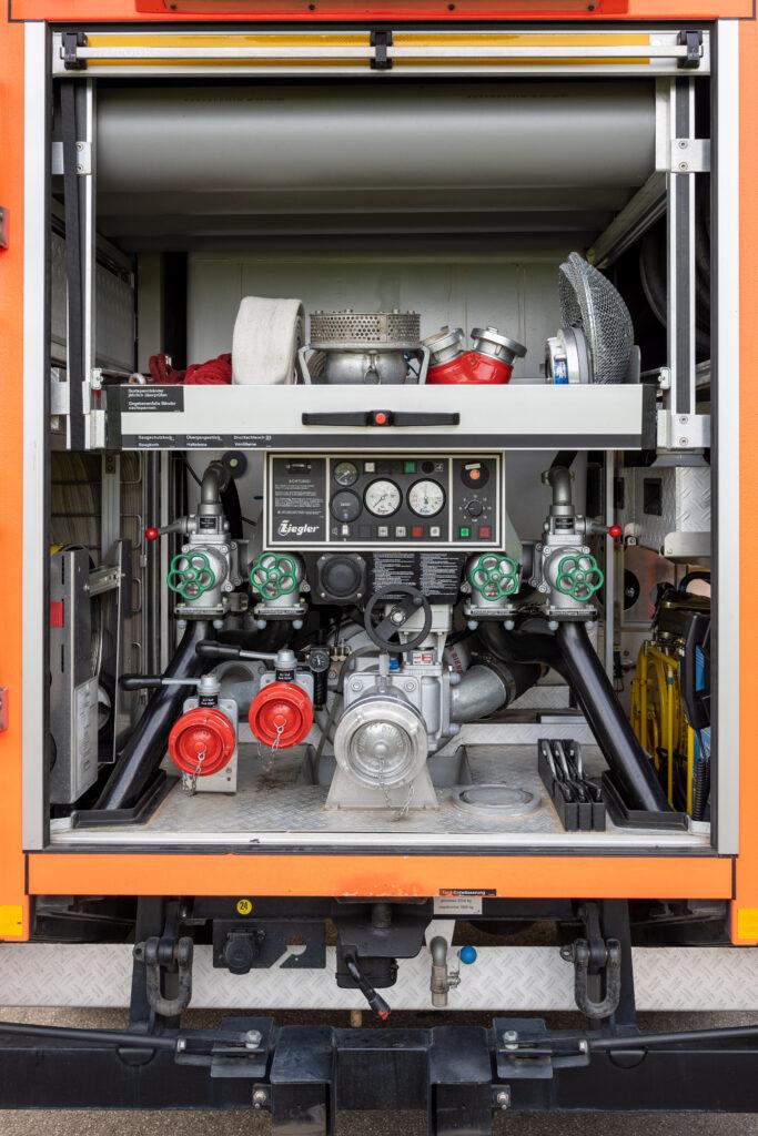 LF20 Geräteraum GR mit Feuerlöschkreiselpumpe