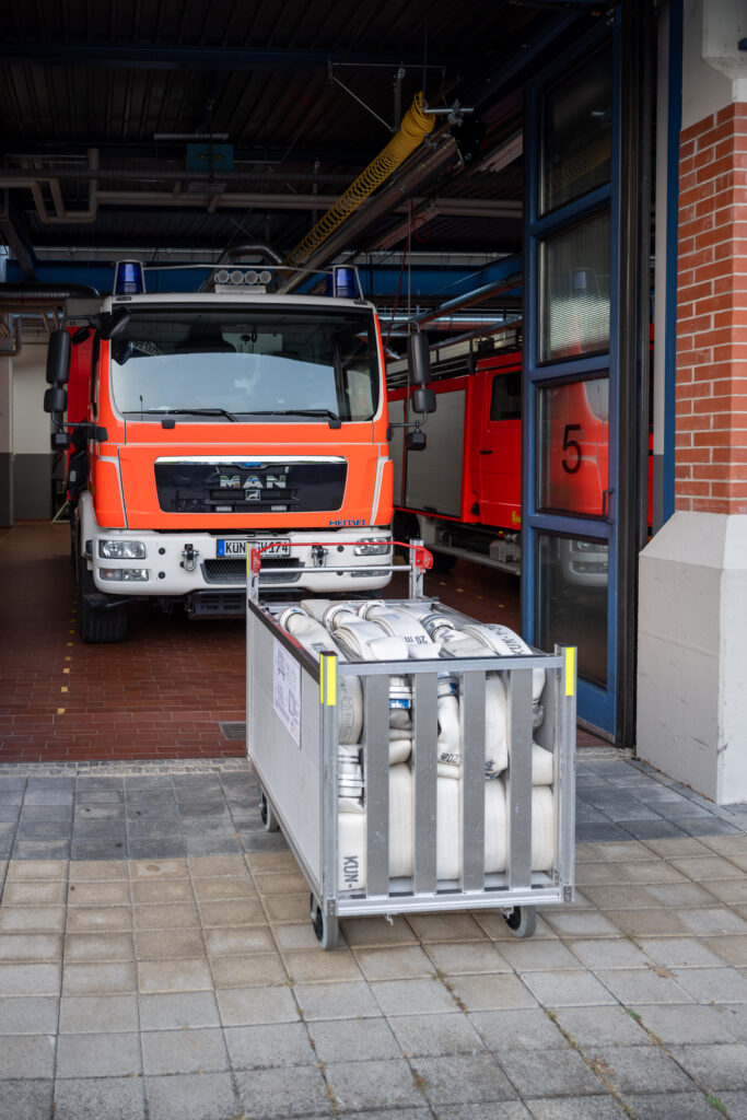 GW-T Rollwagen mit 500m-Schlauch